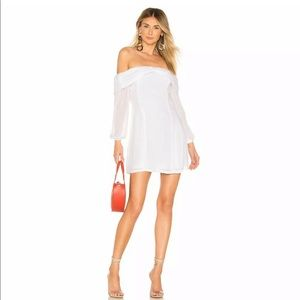 Tularosa white mini dress